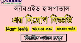 Labaid Hospital Job Circular Image 2021