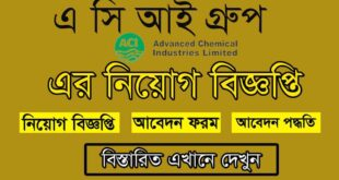 ACI Company Limited Job Circular 2021