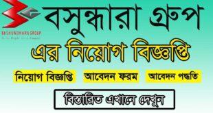Bashundhara Group Job Circular 2021 Picture