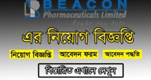 Beacon Pharma Ltd Job Circular 2021 Picture