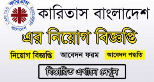 Caritas Bangladesh Job Circular 2021 Picture