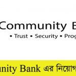 Community Bank Limited Job Circular 2021